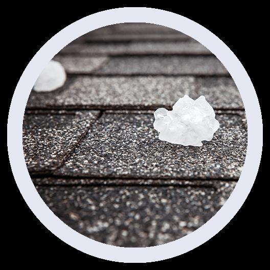 Southline Roofing, Mt Pleasant, SC, Hail Damage