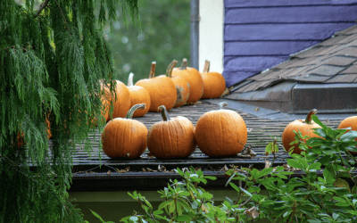 How to safely decorate your roof for Halloween